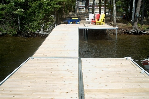 Designer Series Floating Docks