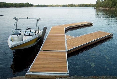 floating docks installation ontario on the water designs. Black Bedroom Furniture Sets. Home Design Ideas