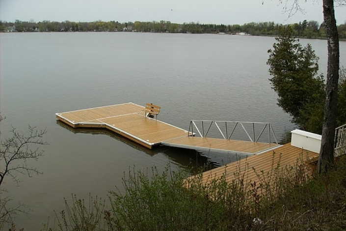 Lake Muskoka Floating Dock