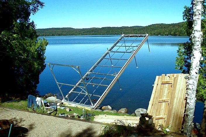 Sparrow Lake Tower Dock