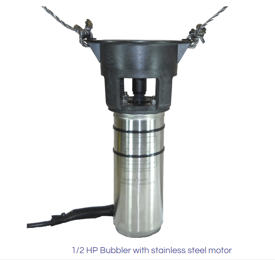 0.5 HP Bubbler - 15M (49.5_) Cable - 110V Single Phase (90-554) 1 of 3