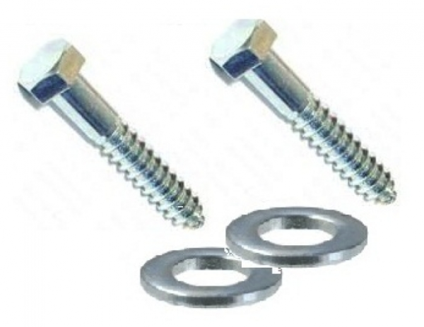 "6"" Flip Up Cleat Hardware (Lag Screws)"