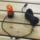 Amber Flashing Beacon 12V DC Transformer (10 Meter cable)