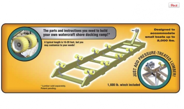 Boat Ramp Kit 2000 lb Capacity