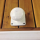 Bollard Cleat [White]