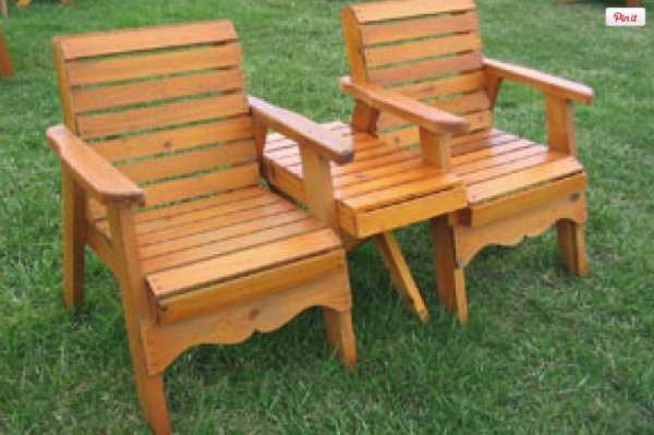 Cedar Dock Chair (95-001)