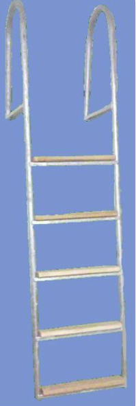 Eco Ladder 5 Step [Galvanized | Grey]