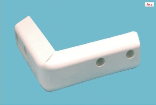 ProTect Corner - HD 8_ - White PVC (53-581)