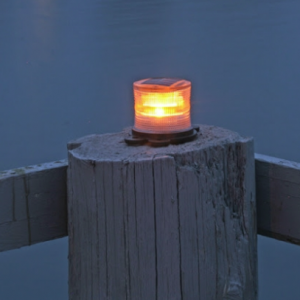 Solar Safety Beacon Lite - Amber