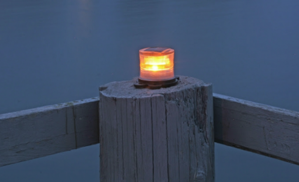 Solar Safety Beacon Lite - Amber (61-372)